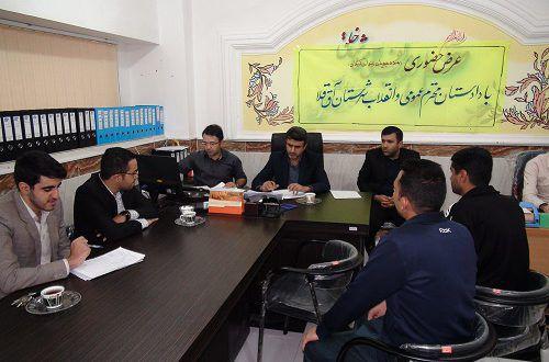 دیدار دادستان آق قلا با مددجویان این حوزه قضایی در زندان مرکزی گرگان