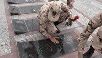 سربازان سپاه نینوا گلستان خون خود را به بیماران نیازمند اهداء کردند