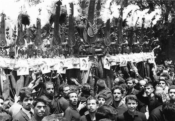 مراسم تشییع پیکر مطهر امام خمینی