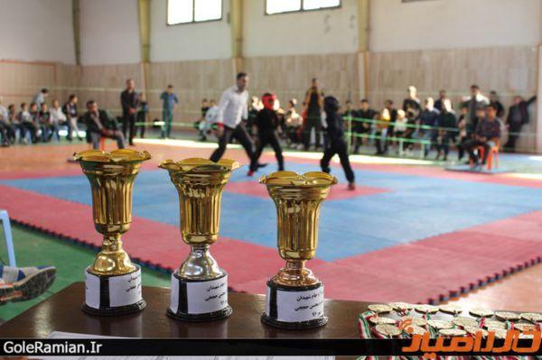 برگزاری مسابقات استانی سبک تو آ در گلستان + تصاویر