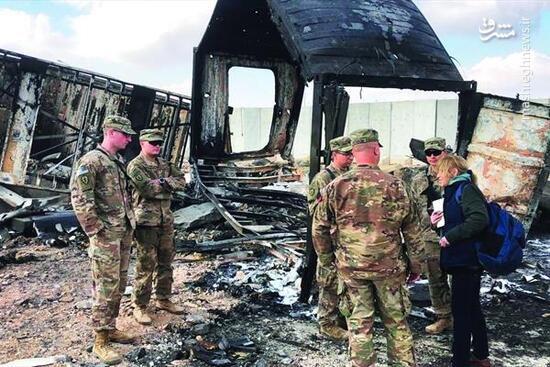 فیلم/ مجروحان پایگاه عین الاسد در آلمان