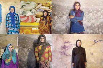 زنانی که فقر و نداری پیرشان کرده است + تصاویر