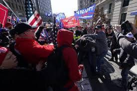فیلم/ تجمع دوباره حامیان ترامپ در آتلانتا