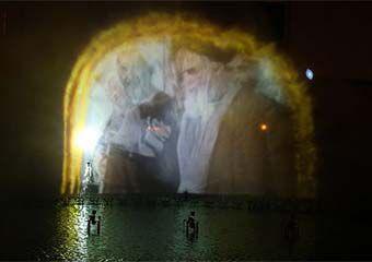 بهره برداری دومین آب نمای تصویری کشور در شرق گلستان