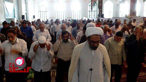 اقامه نماز عید قربان در شهرستان خان ببین