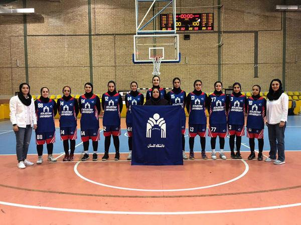سرمربی : تیم بسکتبال دانشگاه گلستان از پیش بازنده نیست