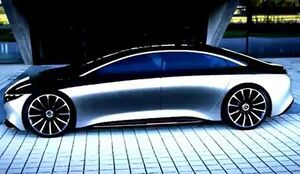 """فیلم/ رونمایی از خودروی تمام الکترونیکی """"بنز"""""""