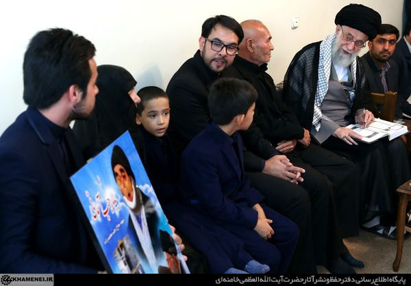خانواده جانباز شهید رجب محمدزاده با رهبر انقلاب دیدار کردند+ تصاویر