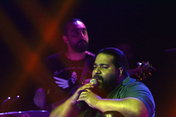 برگزاری کنسرت رضا صادقی در گرگان