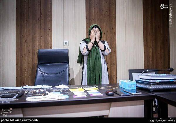 بازداشت سارق زن تحت عنوان نظافتچی! + تصاویر