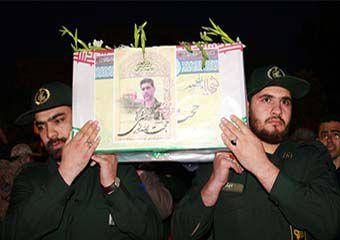 گزارش تصویری/ استقبال و وداع با شهید مدافع حرم حجت اله نوچمنی در گرگان