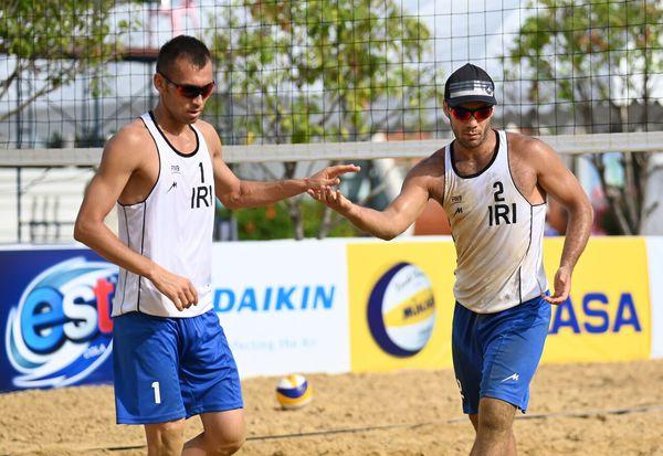 والیبالیستهای ساحلی گلستان از رسیدن به المپیک توکیو بازماندند
