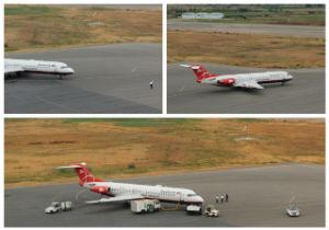 برنامه پرواز فرودگاه بین المللی گرگان، شنبه بیست و چهارم خرداد ماه