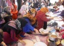 برگزاری جشنواره فرهنگ روستا در مراوه تپه