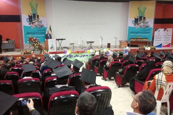 ۲۱ هزار نفر از مراکز دانشگاه علمی کاربری گلستان فارغ التحصیل شدند