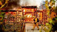 فیلم/ آتشسوزی شدید در باکو