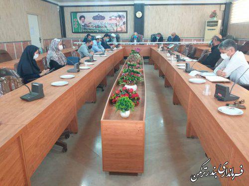 پنجمین جلسه ستاد ساماندهی امور جوانان شهرستان ترکمن