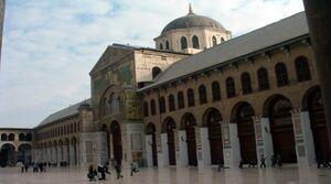 فیلم/ کرونا مسجد اموی دمشق را بست