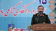 ۱۶۷۳ اصله نهال به نام شهدای سپاه استان گلستان غرس شد