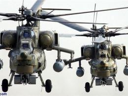 لحظه انهدام بالگرد روسی توسط تروریستها