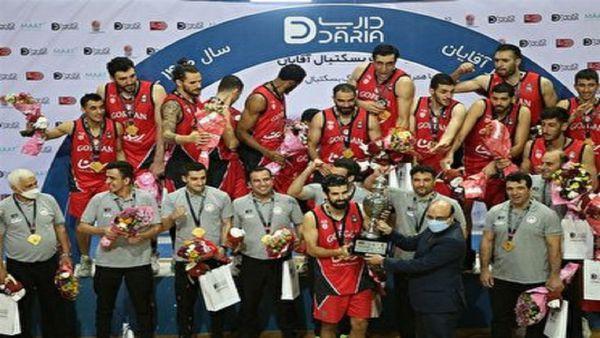تجلیل از سروقامتان بسکتبال شهرداری گرگان با حضور استاندار