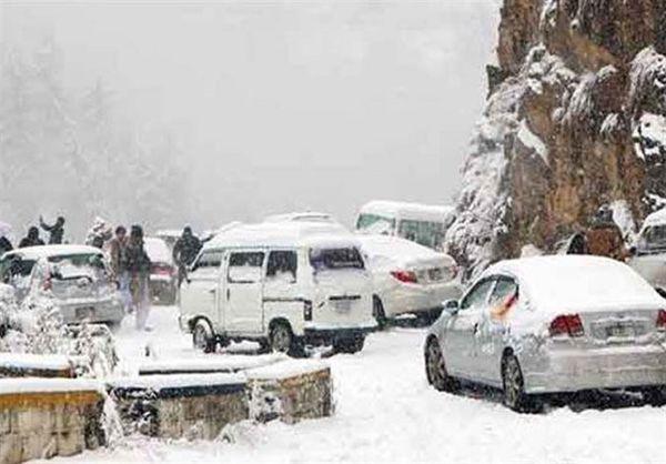 جاده خوشییلاق به استان سمنان مسدود شد