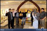عکس/ جهاد مغنیه در کنار آقازادههای ایرانی