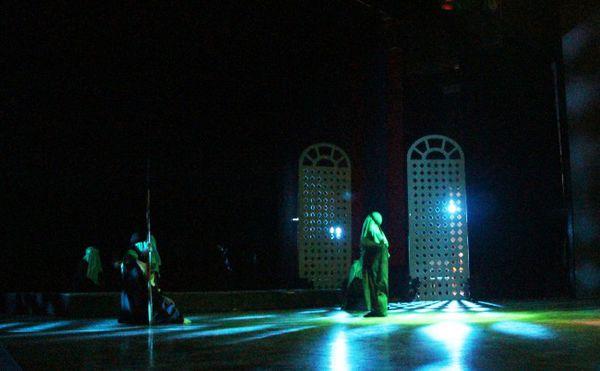 اجرای نمایش مذهبی «حدیث عشق» در گرگان+تصاویر