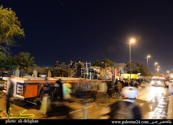 تصاویر برچیدن موکب های حسینی در عراق شماره 2