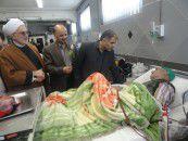 عیادت مسئولین ادارات بندرگز از بیماران بیمارستان شهداء+تصاویر