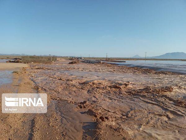 سیل تابستانه به چهار روستای گالیکش خسارت زد