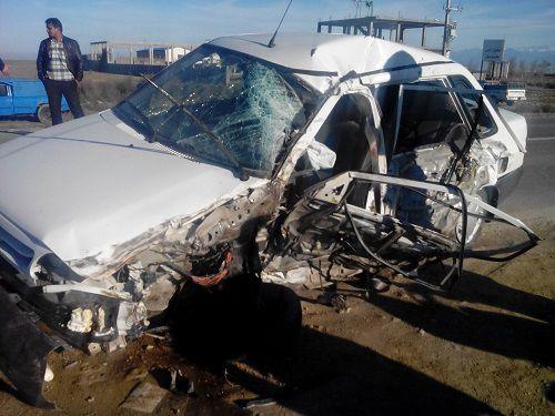 سانحه رانندگی مرگبار در جاده گمیشان