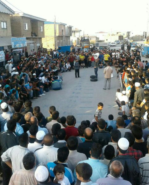 برگزاری مسابقات منطقه ای مردان آهنین در گلستان