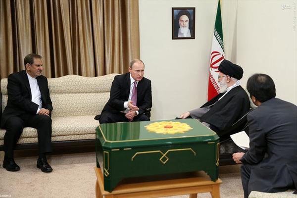 تحویل اس 300 به ایران همزمان با دیدار پوتین با رهبر ایران