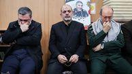 حضور فرماندهان نظامی در منزل شهید سلیمانی/عکس
