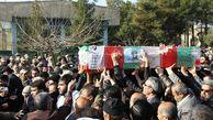 پیکر سرباز شهید مرزبانی در مینودشت تشییع شد