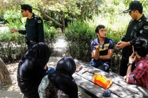 برخورد نیروی انتظامی استان با روزه خوران