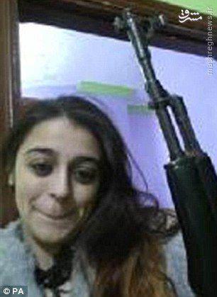 عشقی که زن انگلیسی را به داعش پیوند داد +عکس