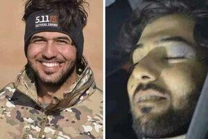 عکس/ لبخند شهید علی بشیر پس از شهادت توسط داعش