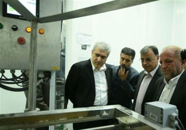 بازدید معاون رئیسجمهور از تنها کارخانه تولیدکننده ویتامین E خاورمیانه در گلستان