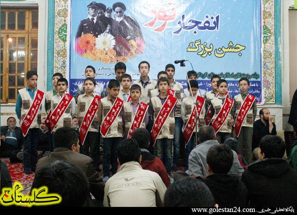 تصاویر جشن انقلاب نور در مسجد جامع کردکوی