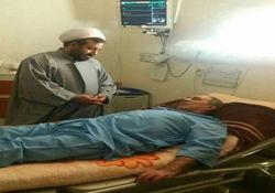 عکس / بستری شدن فرماندار گرگان به دلیل شوکه شدن از فوت آیت الله هاشمی در بیمارستان