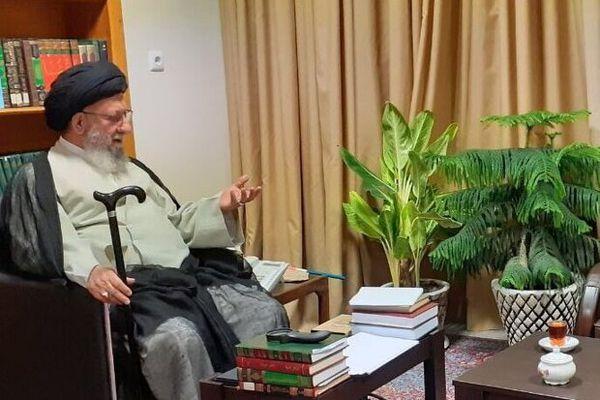 کمک مالی و معنوی آیت الله نورمفیدی به ستاد مبارزه باکرونای گلستان