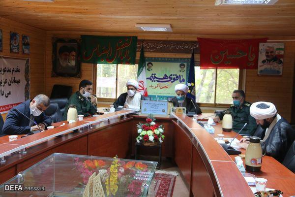 برگزاری نشست بازخوانی نقش روحانیت استان گلستان در دفاع مقدس