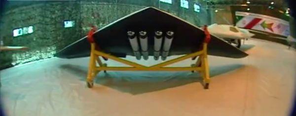 اولین تصاویر از پهپاد دوربرد و رزمی سپاه با نام «صاعقه» + ویژگیها