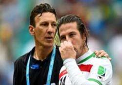 راز گریه تیموریان در بازی با بوسنی فاش شد + عکس