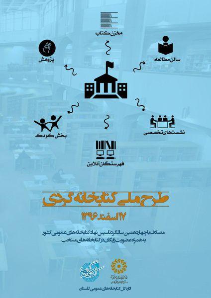 بازدید از کتابخانه های عمومی شهرستان ها درسراسر گلستان