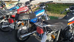 دستبند بر دستان سارق سابقه دار موتورسیکلت در گرگان