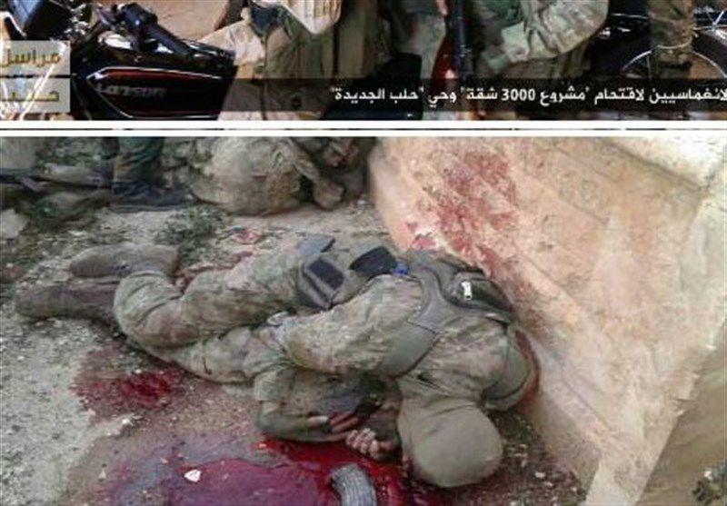 فرمانده میدانی در حلب