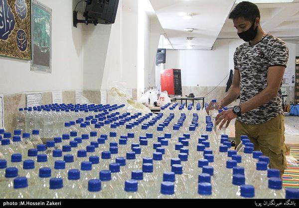 روزانه ۱۰۰ هزار لیتر مواد ضدعفونی کننده در گلستان تولید میشود